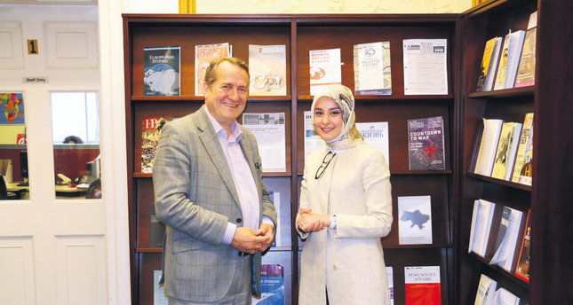 Daily Sabah London correspondent Büşra Akın Dinçer conducted an interview with Quentin Peel about the UK elections.