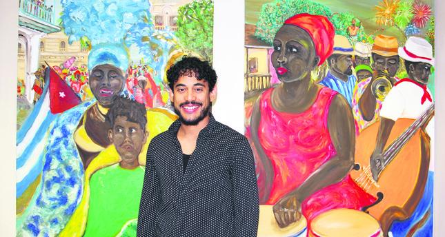 Istanbul hosts Cuban artist's exhibition