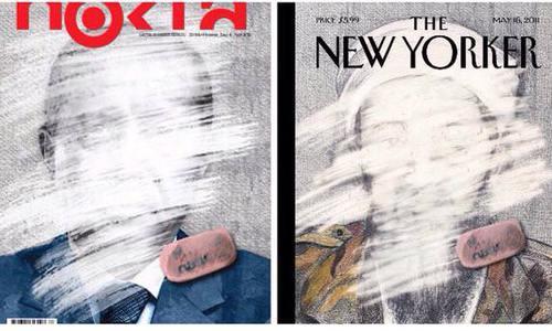 Gülen-linked political magazine Nokta plagiarizes The New Yorker's cover design