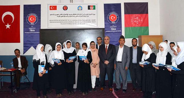 Turkish aid agency TİKA repairs girls' school in Afghanistan