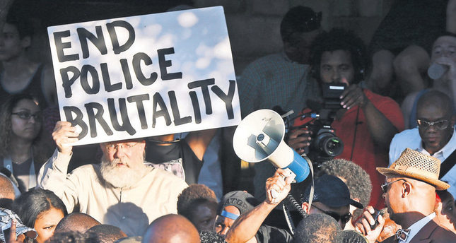 Police brutality in Texas sparked outrage across the country and masses organized demonstrations.