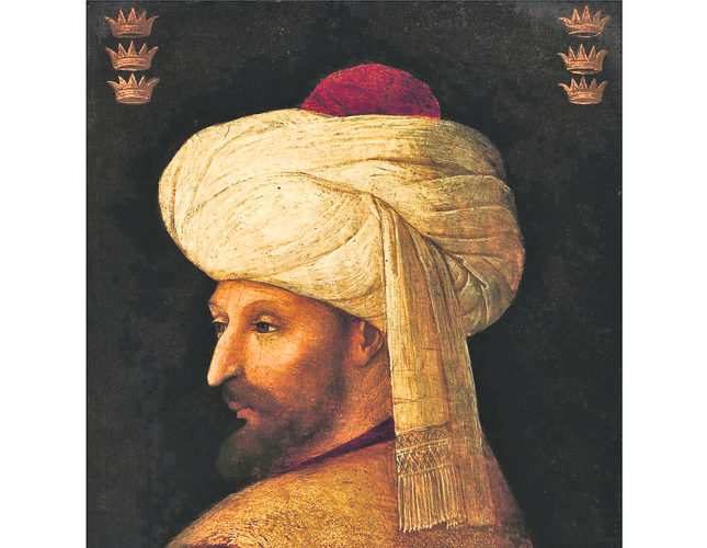 Rare portrait of Mehmed II the Conqueror, Sultan of Ottoman Empire, to be auctioned