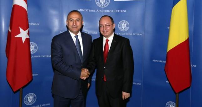 Turkey's EU membership bid backed by Romania