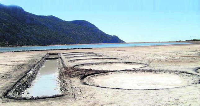 2,000 year-old salt basin found in southwestern Turkey