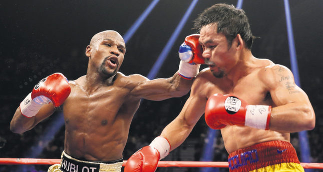 Mayweather tops Pacquiao on Forbes' richest athletes list