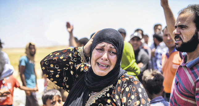 Civilians from Tal Abyad are fleeing the clashes between ISIS and the PKK-linked PYD. Turkey fears the PYD is exploiting the chaos to change the ethnic make-up of the region.