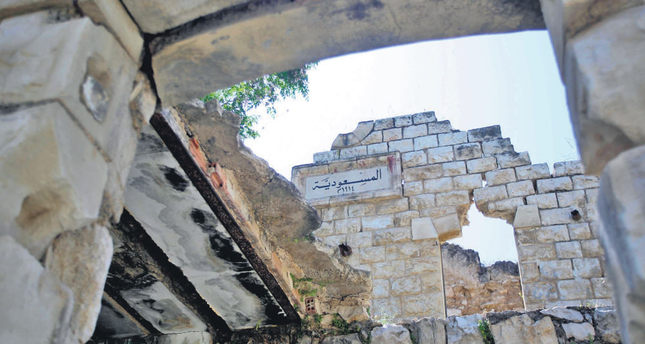 Ottoman Nablus train station left to rot by Israeli settlers