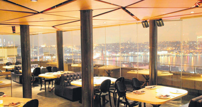X Restaurant offers its guests a chance to have a taste of Turkish cusine with its terrace overlooking the Golden Horn.