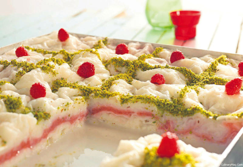 It's important to choose the right dessert during Ramadan, such as low-calorie ,gu00fcllau00e7, (rice wafers stuffed with nuts).
