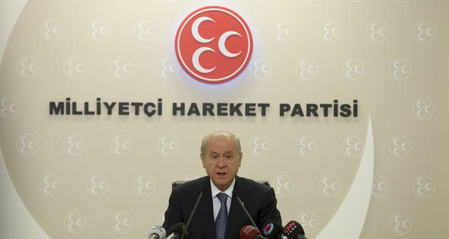 MHP chairman Bahçeli: 'Persuading party into coalition with HDP waste of time'