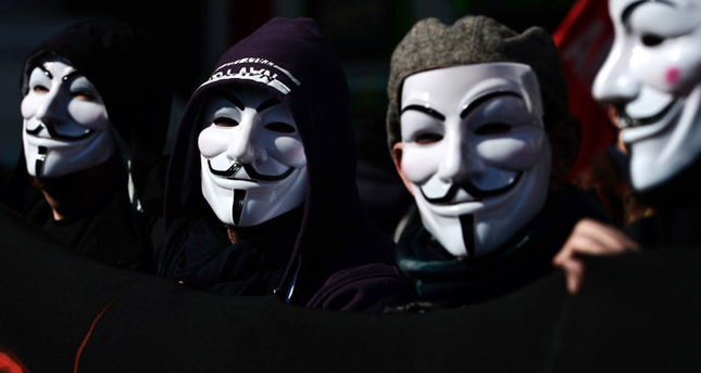 Anonymous attacks Canadian government websites