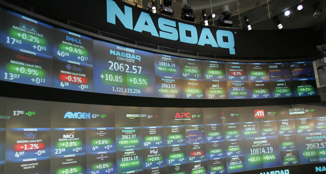 Nasdaq powers to all-time record