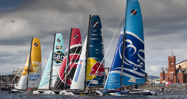 First Turkish team takes part in adrenaline-fueled extreme sailing