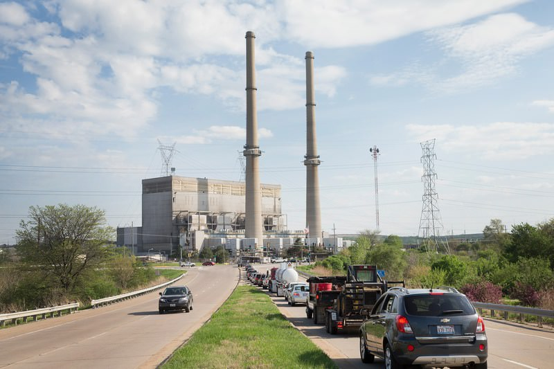 The Environmental Protection Agency (EPA) reports the combustion of fossil fuels to generate electricity is the largest single source of CO2 emissions in the United States, followed by the burning of fossil fuels for transportation. (AFP Photo)