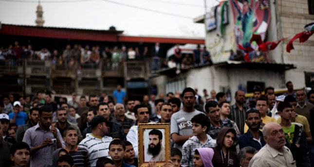 Red Cross fears for Palestinian on hunger strike for 48 days in Israel