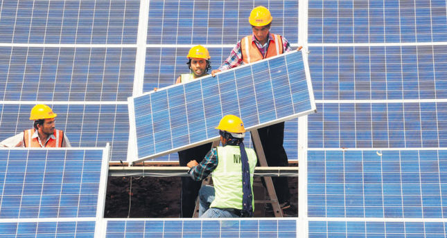 SoftBank in $20B solar power venture in India