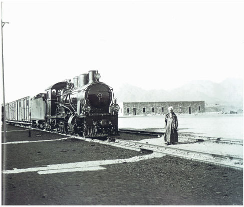 Photos from the Hejaz Railway, which was built on the command of Sultan Abdülhamid II between Damascus and Medina from 1900 to 1908, attracted the most attention at the exhibition.