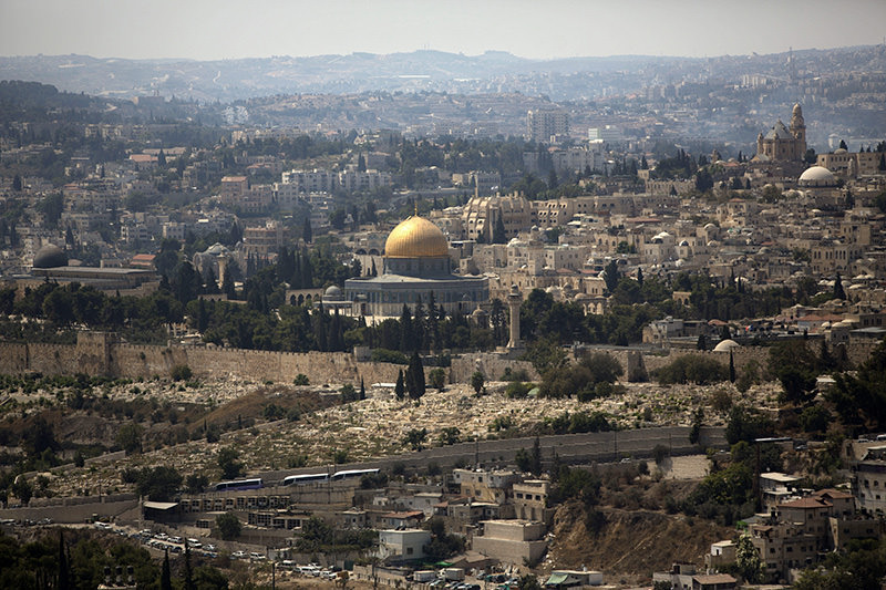In this Monday, Sept. 9, 2013 File Photo, the dome of the rock mosque in the Al-Aqsa Mosque compound is seen in Jerusalemu2019s Old City(AP Photo)
