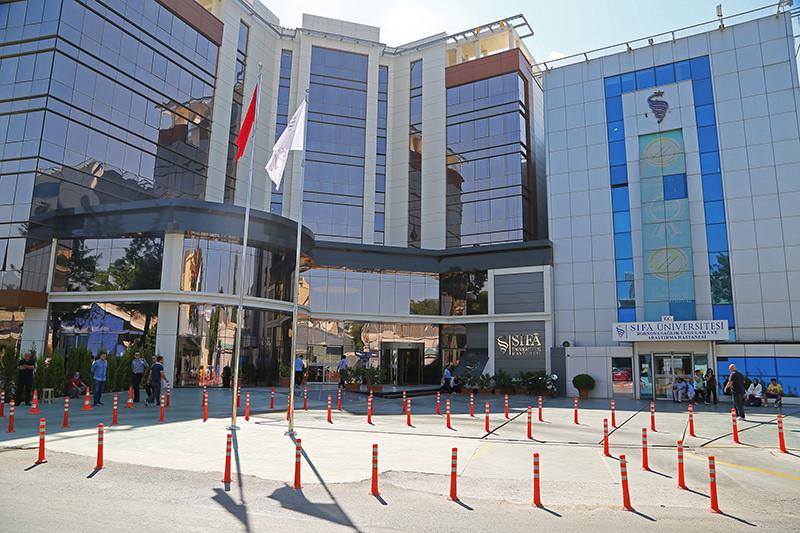 u015eifa Hospital and University complex in the Aegean city of u0130zmir (AA Photo)