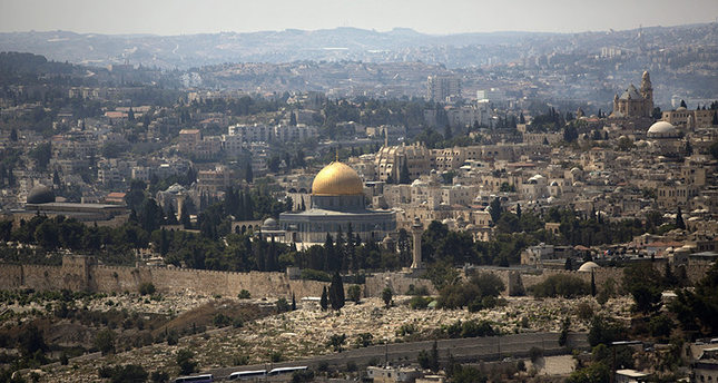 In this Monday, Sept. 9, 2013 File Photo, the dome of the rock mosque in the Al-Aqsa Mosque compound is seen in Jerusalem's Old City(AP Photo)