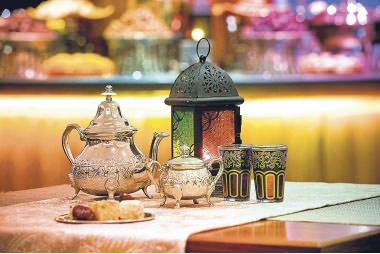 Hotels offer guests tastes of various cuisines from around the world exclusively prepared for Ramadan. Guests can also enjoy amazing views from the hotels.