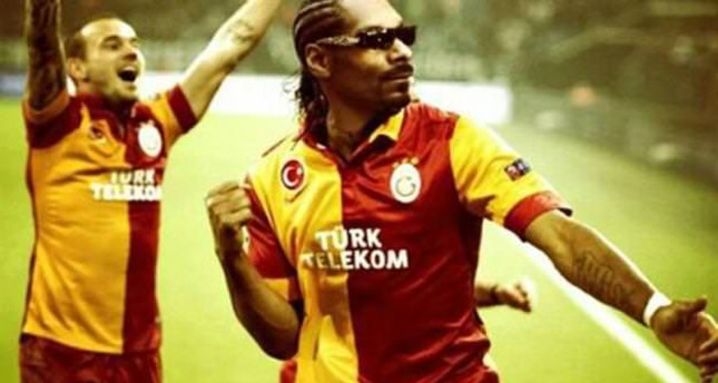 Snoop Dogg shares a picture on Instagram depicting himself as Galatasaray player