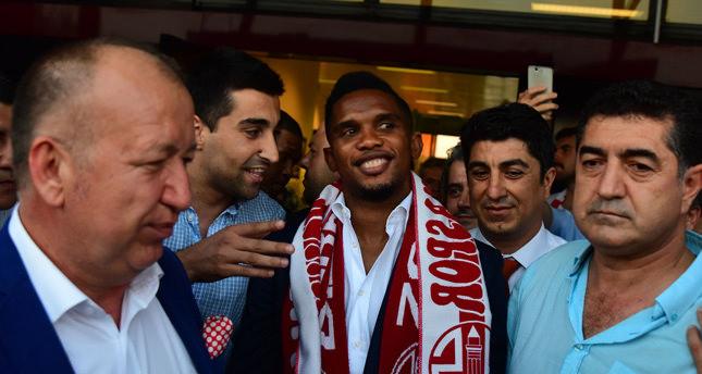 Renowned striker Samuel Eto'o passes physical, joins Turkey's Antalyaspor