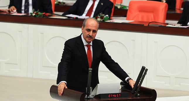 Turkish Deputy PM Numan Kurtulmuş dismisses Kobani allegations