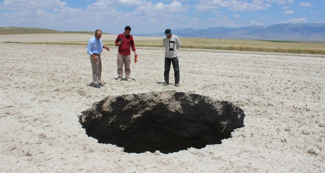 Nine sinkholes in 3 months scare locals in central town