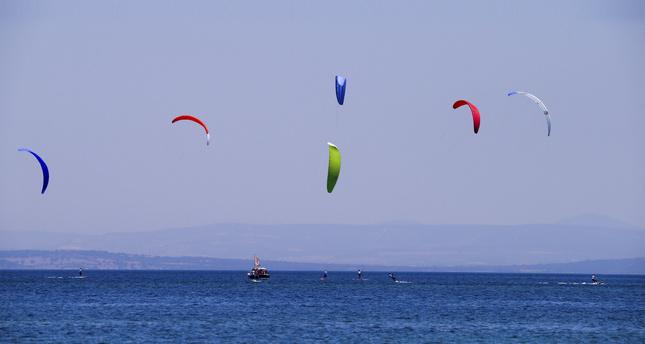 Aegean paradise Bozcaada hosts kiteboarders and cyclists
