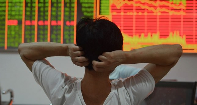 China stocks plunge, markets' eye on Greece