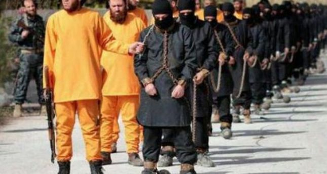 Jaish Al-Islam members allegedly executed captured ISIS militants in May.