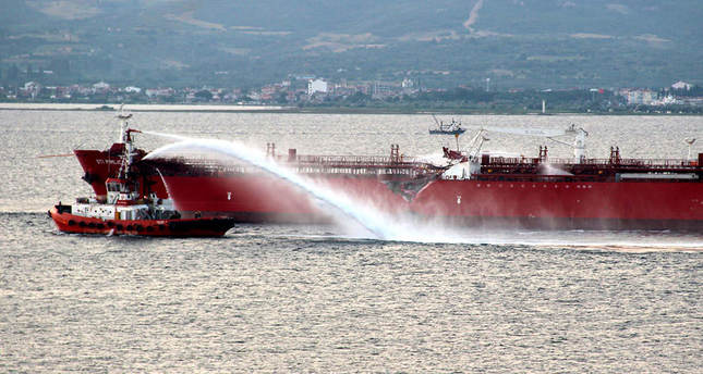 Oil tanker collides with cruise ship in Turkey's Dardanelles Strait, no injuries