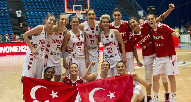 Turkish sportswomen's internationals dominate sports