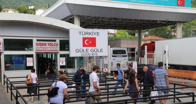 Georgian border becomes a maze