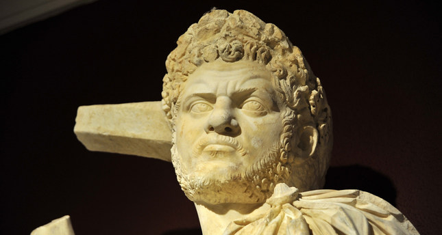 Sculpture of Roman Emperor Caracalla