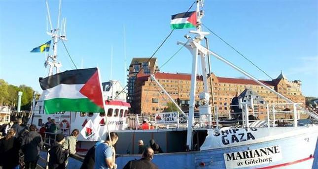 Israeli navy intercepts third Gaza-bound aid flotilla, flagship Marianne in international waters