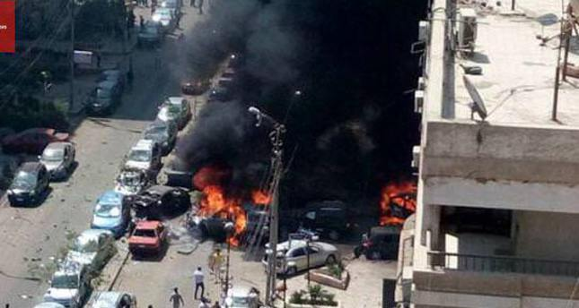 Scene of explosion in Cairo that targeted top law officer
