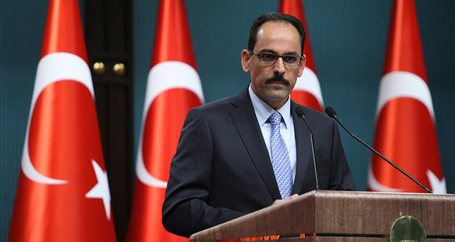 Turkey won't act unilaterally in Syria, but will protect border: Presidential Spokesman