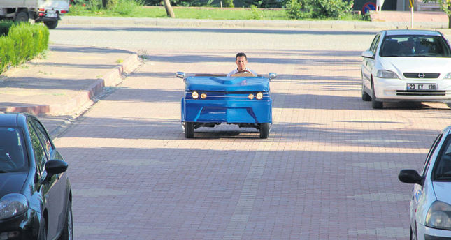 University students make electric car in 3 months