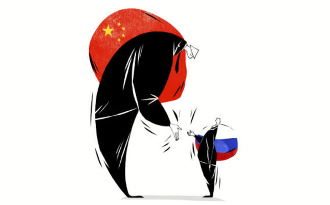 Russia and China: Balancing without allying