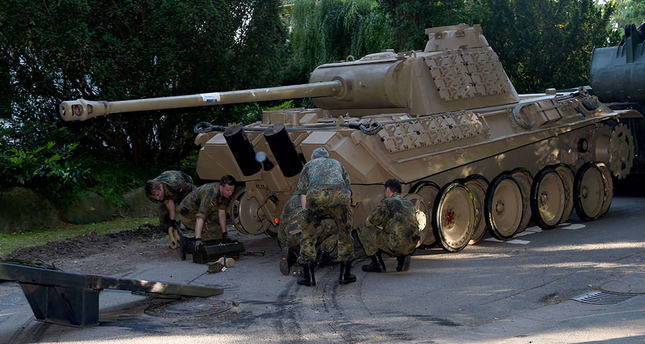German authorities seize tank, other World War Two weapons in raid