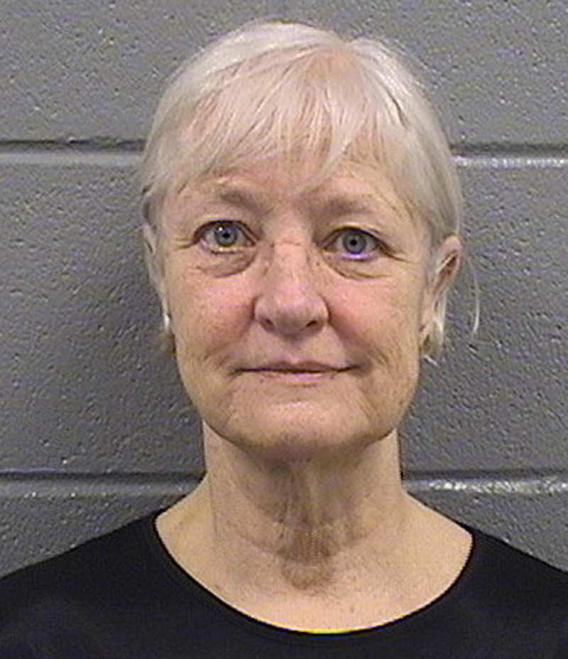 This undated booking photo shows 63-year-old Marilyn Hartman. Hartman was released from the Cook County Jail in Chicago on Thursday, July 2, 2015, and says she's through with her run of stowaway attempts. (Photo AP)