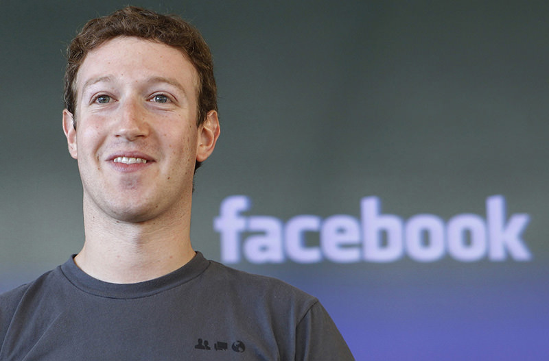Facebook CEO Mark Zuckerberg smiling during a meeting in San Francisco. File Photo (AP Photo)