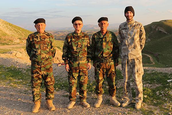 NPU commanders with SOLI CEO Matthew VanDyke at Manila Training Center in Iraq (Photo: SOLI website)