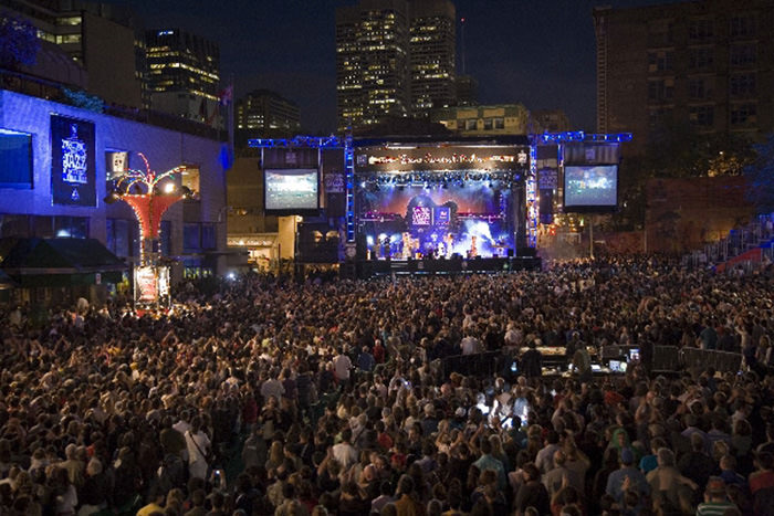 The Montreal International Jazz Festival (Commons Photo)