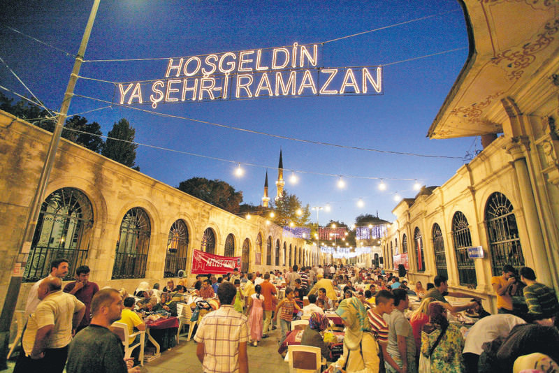 Municipalities all across the country organize large-scale iftar dinners for their neighborhoods.