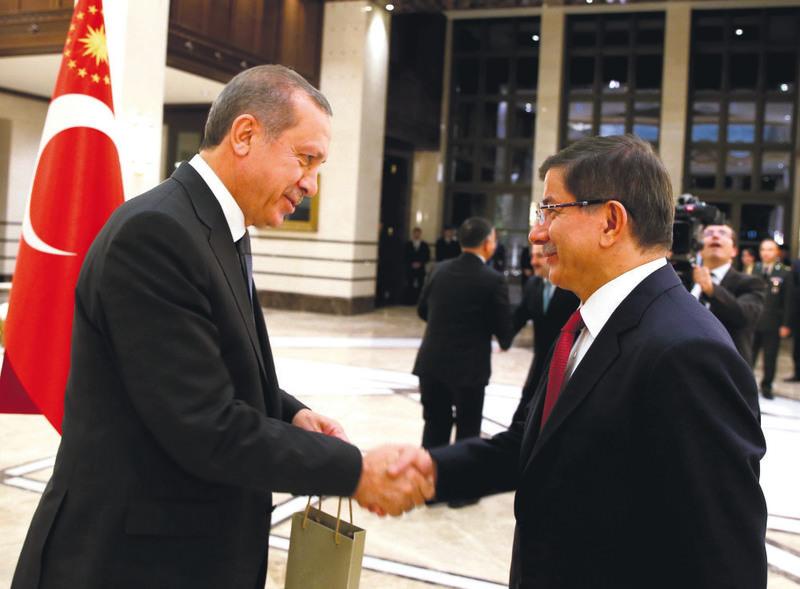 President Recep Tayyip Erdou011fan, Prime Minister Ahmet Davutou011flu.