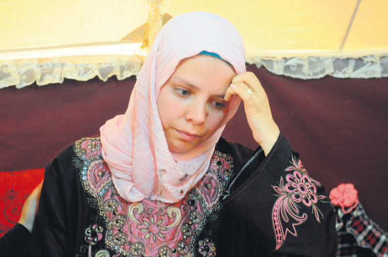 Abir Yetim will give birth to a baby soon and she is greatly concerned about the future of her children.