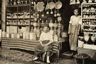 A sweet shop in Istanbul, 1909